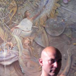 Artist Mark Garro