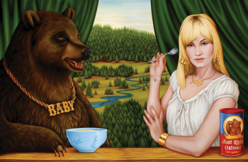 "Isabel Samaras - ""Porridge Eaters (Baby)"""