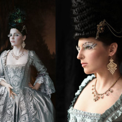 Rachel Kerby couture photoshoot with Nina Pak