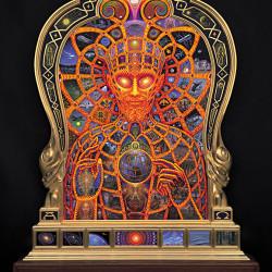 "Alex Grey ""Cosmic Christ"""
