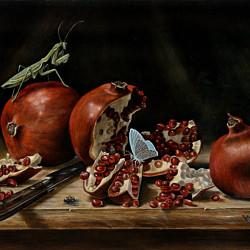 """Benjamin Vierling """"Pomegranates"""""""