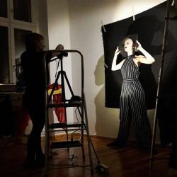 Daevina Danyluck behind the scenes 1