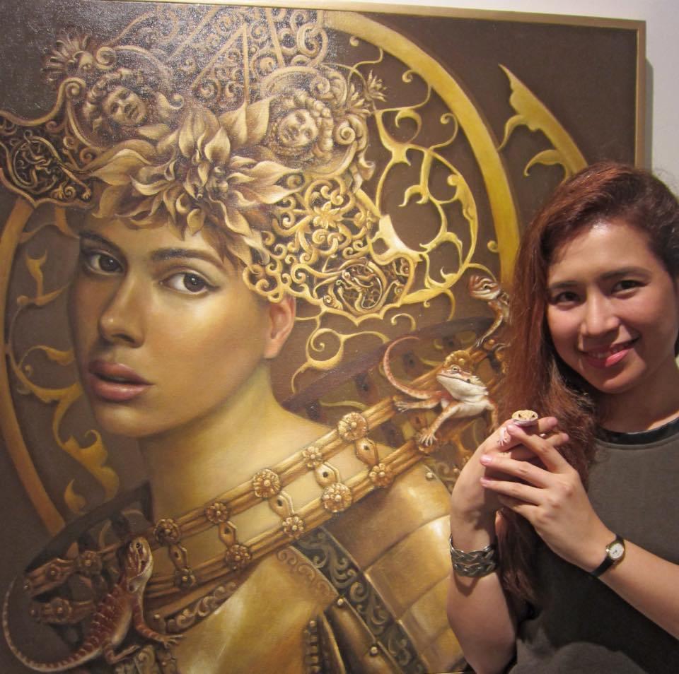 Interview with artist Camille dela Rosa