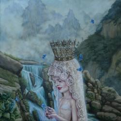 006_Bathing of a Girl God_Jana Brike_2014_90x90