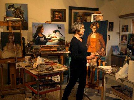 Artist Lea Bradovich
