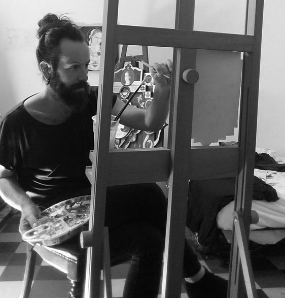 Interview with the Artist  Emiliano Alfonsi