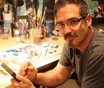 "Interview with the Artist Rick ""DIENZO"" Blanco"