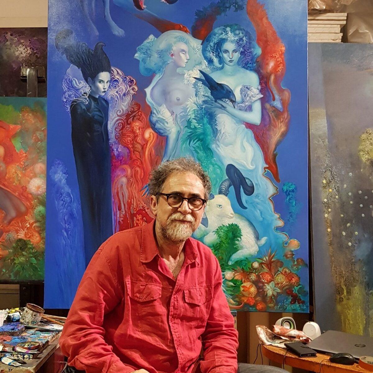 Interview with the Artist Zeljko Djurovic